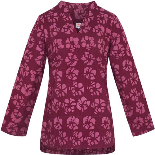 Tunic Bordeaux