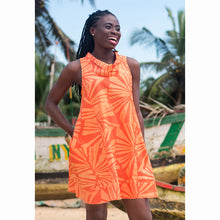 Load image into Gallery viewer, Eli Dress Tangerine
