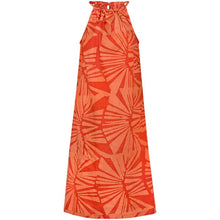 Load image into Gallery viewer, Kosa Dress Tangerine / Blue