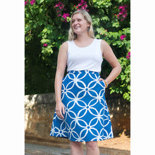 Load image into Gallery viewer, Volta Skirt Blue