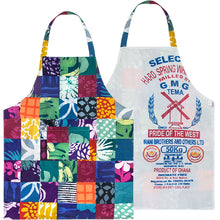 Load image into Gallery viewer, Patchwork Reversible Apron
