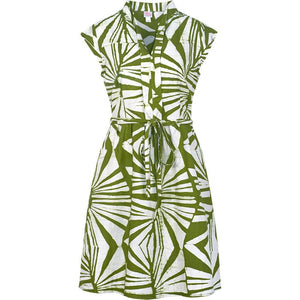Retro Dress Green