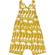 Load image into Gallery viewer, Baby Romper Mustard