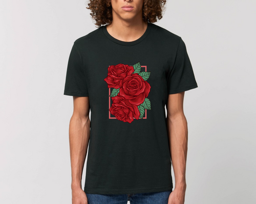 Rose Unisex Tee (all colors)