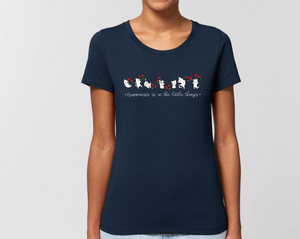 Happiness Women fit Tee (dark colors)