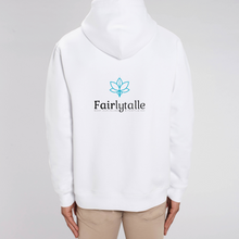 Load image into Gallery viewer, Fairlytalle Back Unisex Hoodie White
