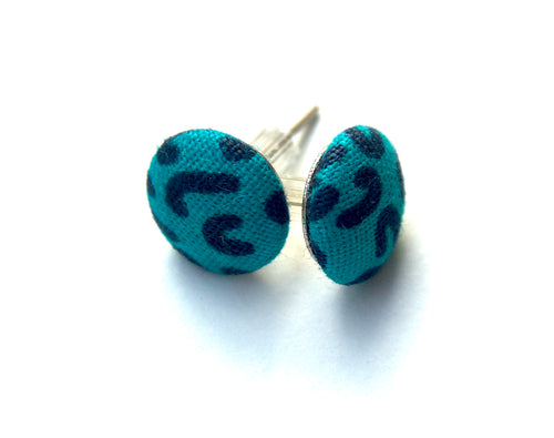 Set of 2 Up-cycled Cotton Earrings