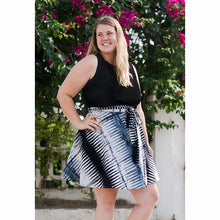 Load image into Gallery viewer, Wrap Skirt Black