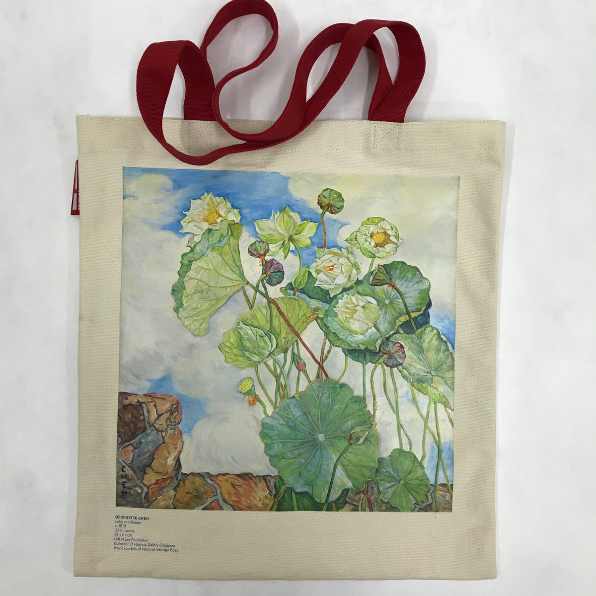 Custom tote bag for national gallery