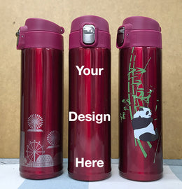water bottle printing in Colors