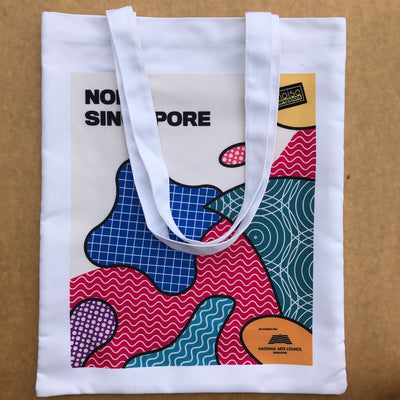 custom tote bag printing for Noise Singapore 2019