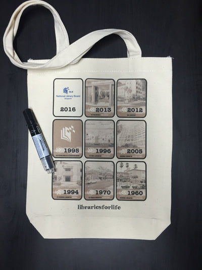 custom tote bag printing for NLB