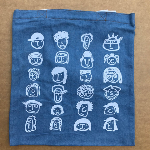 denim tote bag for SUTD