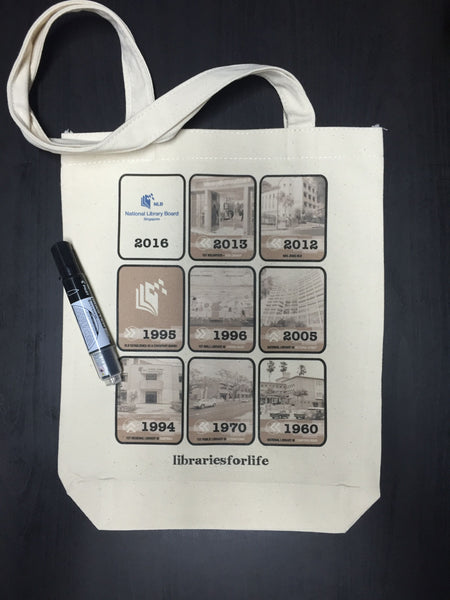 tote bag printing for NLB