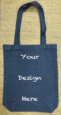 Custom Denim Tote Bag 107