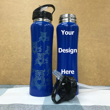 Custom thermal flask 16