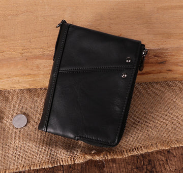 Custom Genuine Leather wallet 03