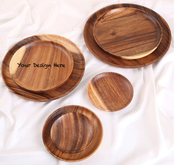 Custom solid wooden tray 14 (S size)