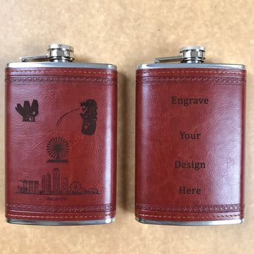 Custom wine flask 02