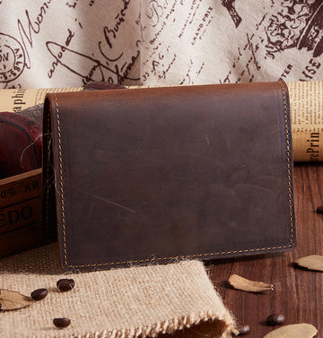 Custom Genuine Leather Passport holder 02