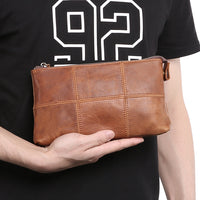 Custom Genuine Leather Pouch 03