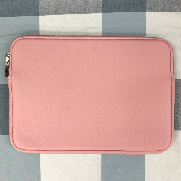Custom laptop case pink