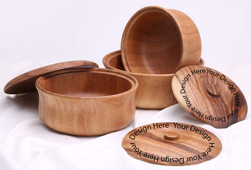 Custom wooden bowl 02