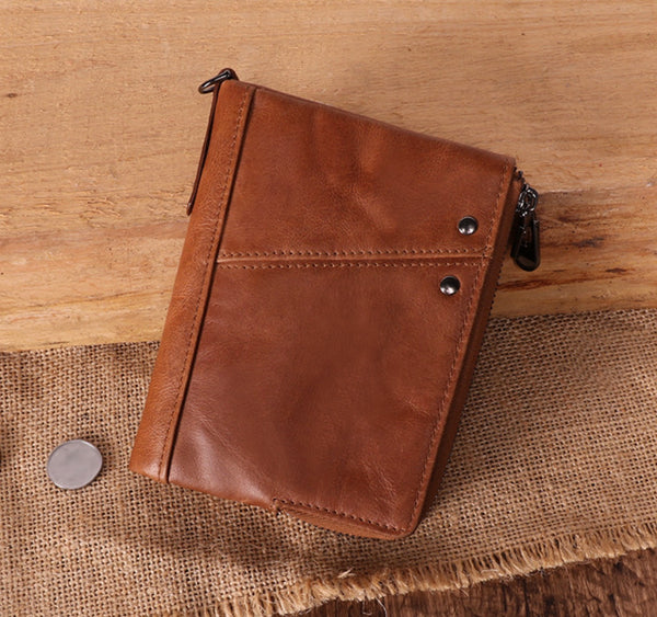 Custom Genuine Leather wallet 02