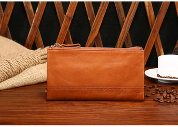 Custom Genuine Leather Pouch 04
