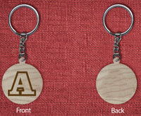 Solid wood keychain A