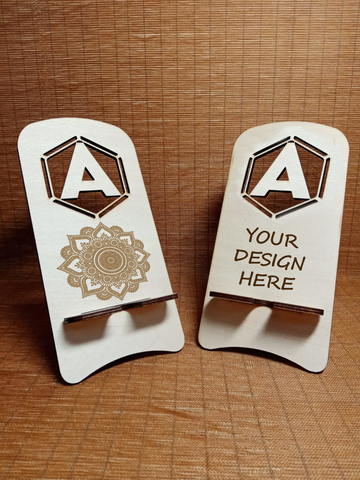 Customized Mobile Holder (Letter A)
