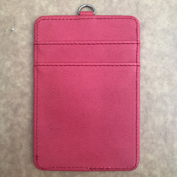 Custom PU leather card holder 16