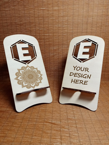 Customized Mobile Holder (Letter E)