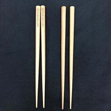 Custom wooden chopsticks