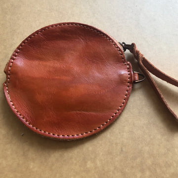 Custom Genuine Leather Coin Pouch 03