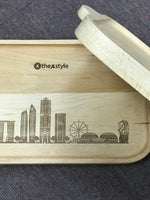 Custom wooden tray 02
