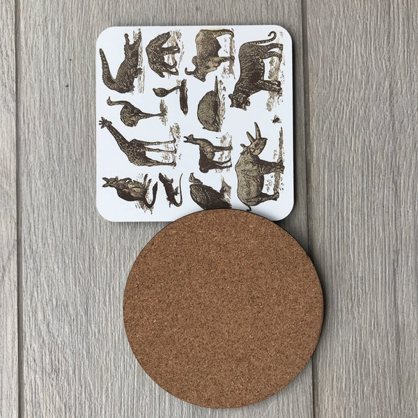 Custom Cork Coaster 04