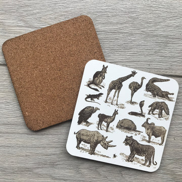 Custom Cork Coaster 05