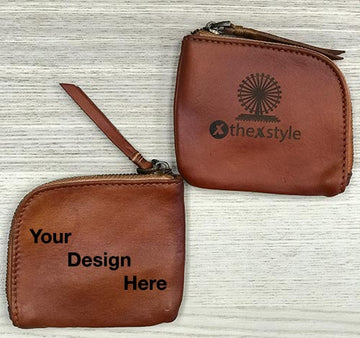 Custom Genuine Leather Coin Pouch 02