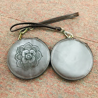 Custom Genuine Leather Coin Pouch 04