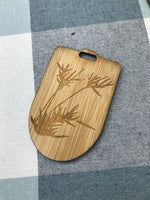 Custom Bamboo Luggage Tag 14