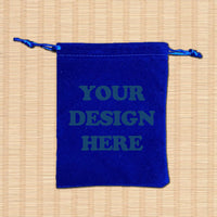 Custom Velvet Drawstring Bag 01