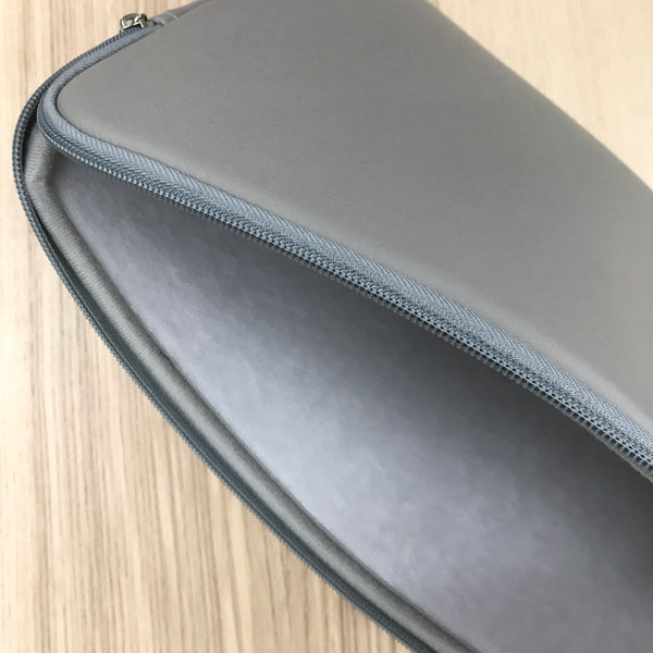 Custom laptop case grey