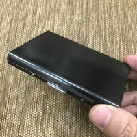 Custom Stainless Steel Card Holder 18