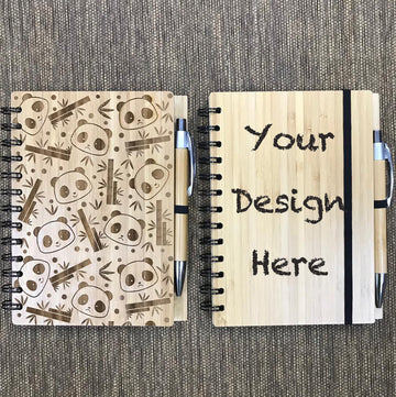 Custom Bamboo Notebook Printing 30