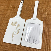 Custom PU Luggage Tag 32 (2 pcs in one set)