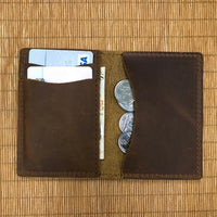 Custom Genuine Leather card holder 15