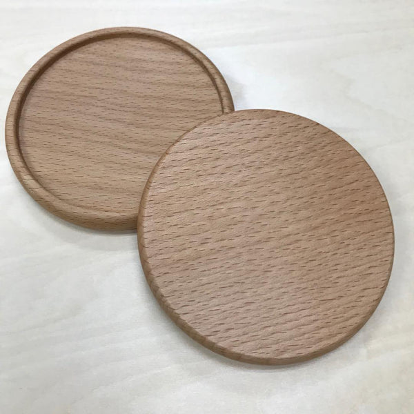 Custom Solid Wood Coaster Printing 30