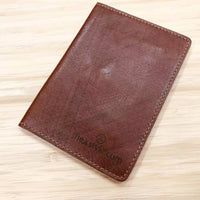 Custom Genuine Leather Passport holder 01