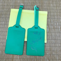 Custom PU Luggage Tag 35 (2 pcs in one set)